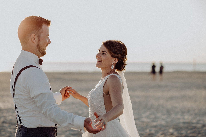 Sankt Peter-Ording, Hochzeit, Strandhochzeit, Nordsee, wedding, beach wedding, Hochzeitsfotograf, sunset